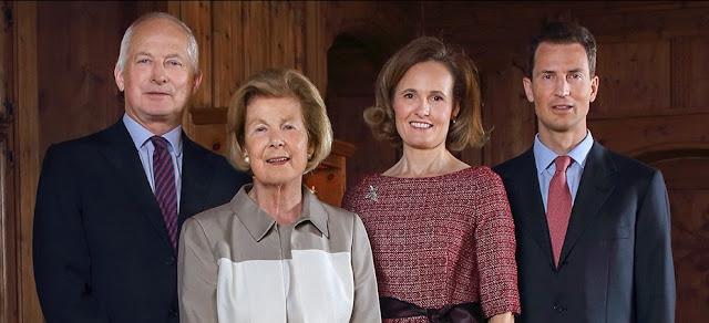 Imperor.net: Новости: аристократия, монархия, luxury, история Новые фотографии княжеской семьи Лихтенштейна
