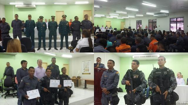 16º Batalhão realiza formatura em homenagem aos 181 anos da Polícia Militar do Maranhão.