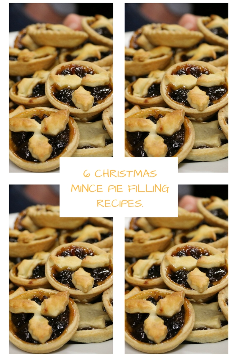 6 Christmas Mince Pie Filling Recipes