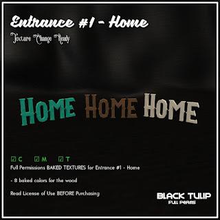 [Black Tulip] Textures - Entrance Kit #1 - Home