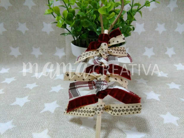 Mama creativa diy como hacer adornos para el rbol de - Hacer adornos arbol navidad ...