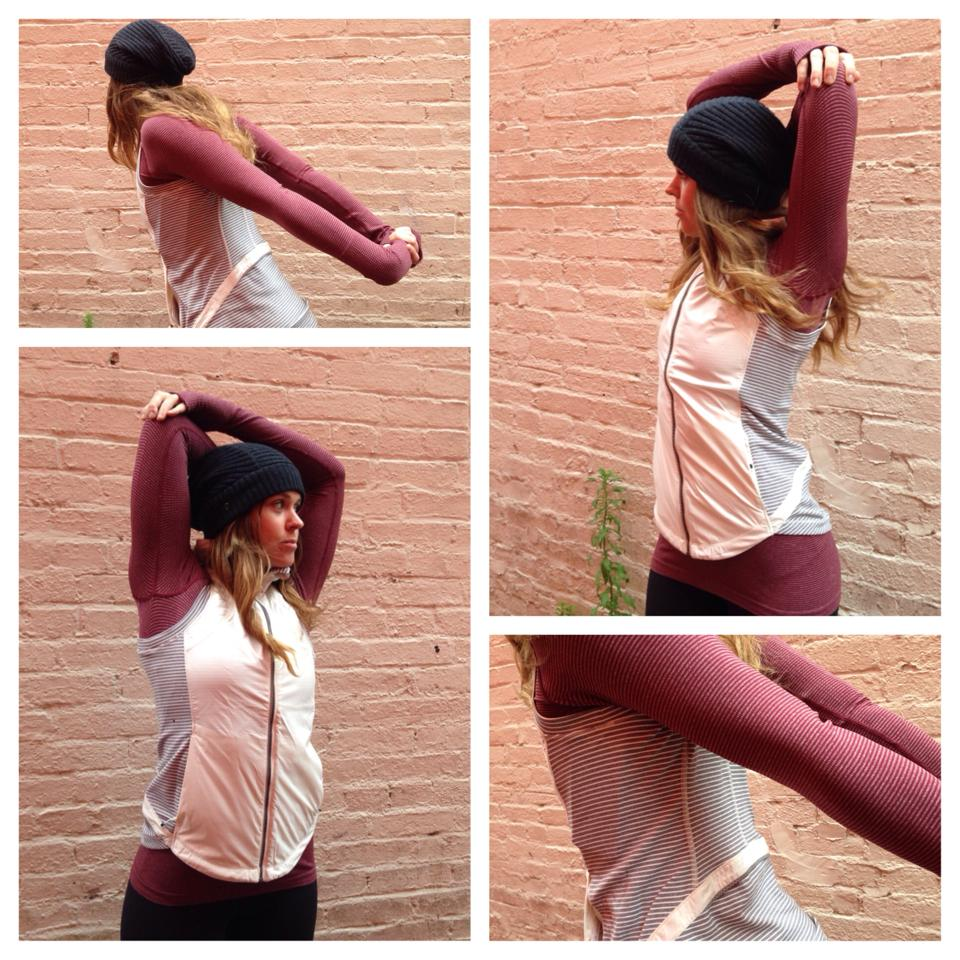 lululemon rust berry swift long sleeve