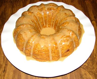 Shel S Kitchen Butterscotch Banana Bundt Cake
