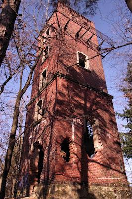Sołtysia Góra wieża widokowa w 2011 roku