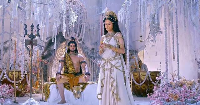 Sree Bhadrakali serial cast -Lord Shiva and Parvathi