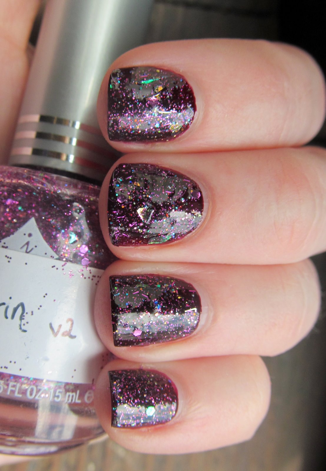 China Glaze Naughty and Nice & Erin Franken