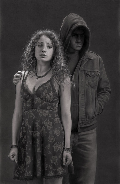 03-The-Returned-Adam-and-Lucy-Dirk-Dzimirsky-Realistic-Drawings-and Paintings-www-designstack-co