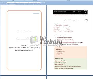 Download RPPH TK A Semester 1 Minggu 3 Kurikulum 2013 (Contoh) Gratis