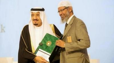 Dikriminalisasi India, Raja Salman Berikan Suaka Untuk Dr Zakir Naik