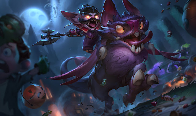 Surrender At 20 10 16 Pbe Update Tales From The Rift Splash Art
