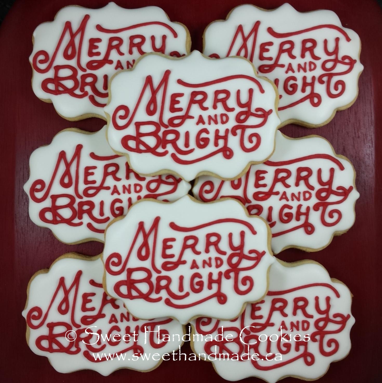 Sweet Handmade Cookies Christmas Cookies 2017