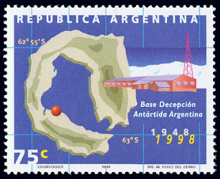 Argentina Base Decepcion Stamp