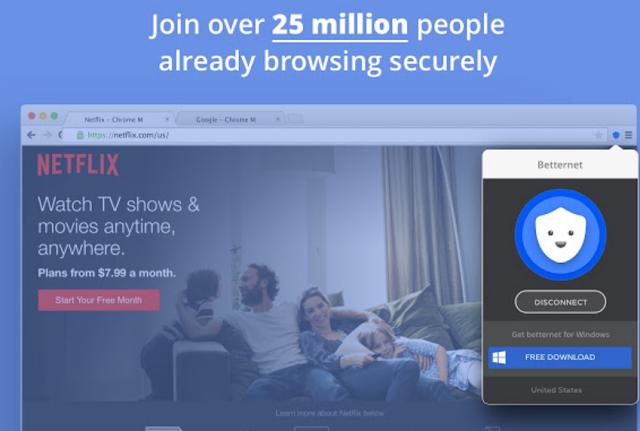 تحميل اضافة بيتر نت لجوجل كروم - شرح برنامج Betternet مجانا