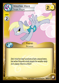 My Little Pony Weather Mare, Team Player Equestrian Odysseys CCG Card