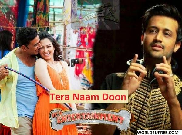 Tera Naam Doon – Its Entertainment 2014 Video Song 720p HD Atif Aslam