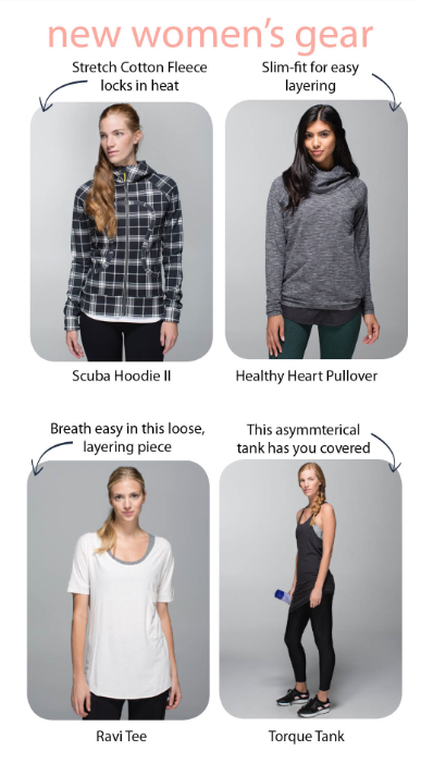 lululemon britt's picks
