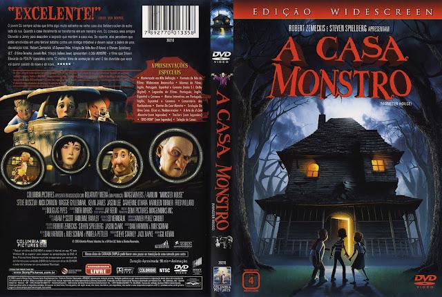Capa DVD A CASA MONSTRO