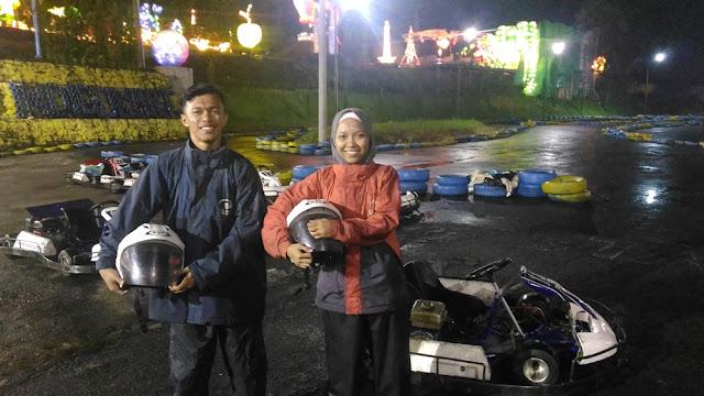 Main Go Kart di Batu Night Spectacular Tempat Wisata di Malang
