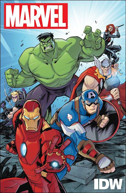 idw avengers #1