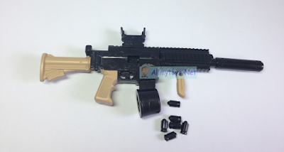 Mini Toy Gun assembled and shoot like real 2