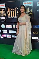 Prajna Actress in backless Cream Choli and transparent saree at IIFA Utsavam Awards 2017 0013.JPG