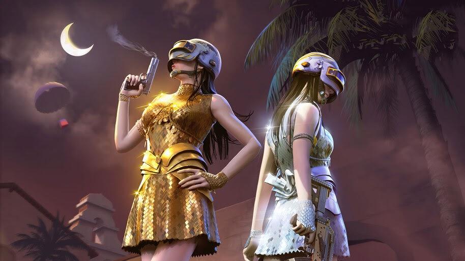 PUBG, Girls, PlayerUnknowns Battlegrounds, 4K, #7.2076