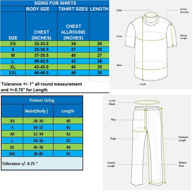 SizeChart2 body size chart