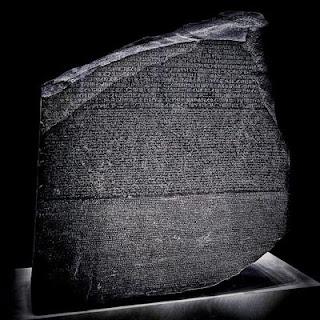 Histórico da Pedra de Roseta