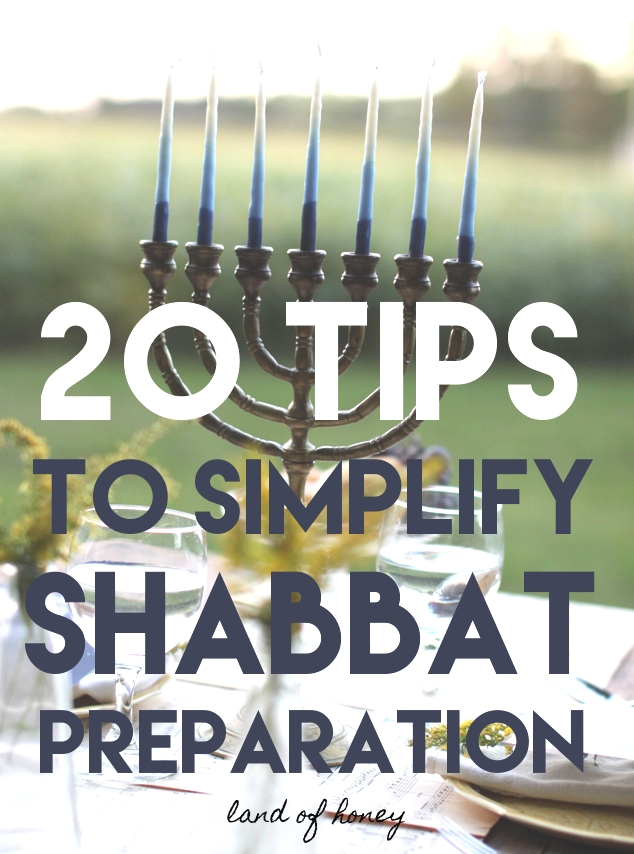 Tips for an Easier Shabbat