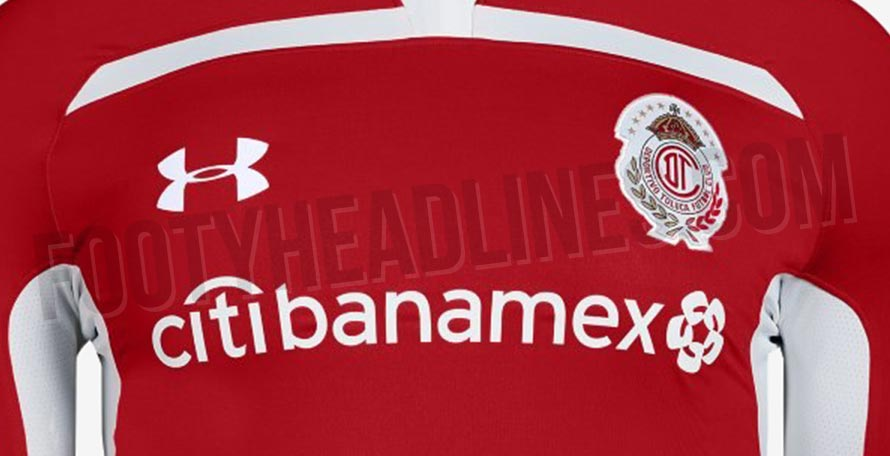 1ba94a39e8c The new home, away and third kits of Mexican club Toluca, produced by Under  Armour, have leaked. They are expected to be launched in June or July.
