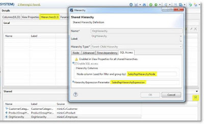 New Hierarchy SQL enablement with Calculation Views in SAP HANA 1.0 SPS 10