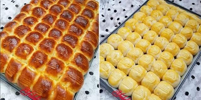 Λαχταριστά ψωμάκια γιαουρτιού
