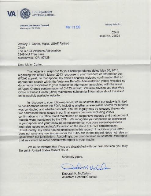 VA+FOIA+Letter Veterans Administration Letter Template on veterans verification letter, veterans benefits letter, veterans affair sample letter, department of defense letter, veterans cover letter examples, veterans day letter examples, social security administration letter,