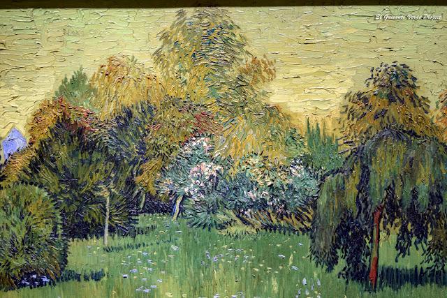 Van Gogh, El Jardín del Poeta I - Art Institute, Chicago por El Guisante Verde Project