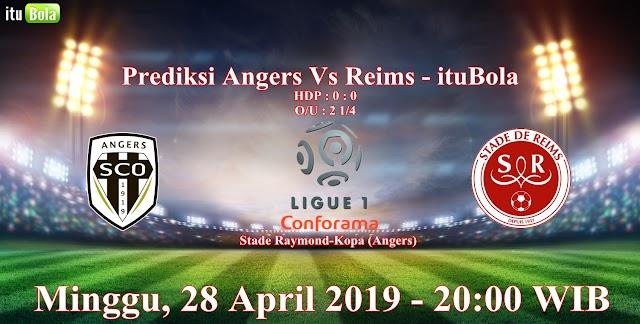 Prediksi Angers Vs Reims - ituBola