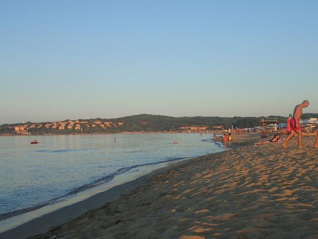 Plaża gdzieś między Burgas i Sozopolem