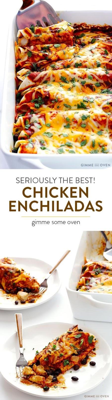 Best Chícken Enchíladas Ever!