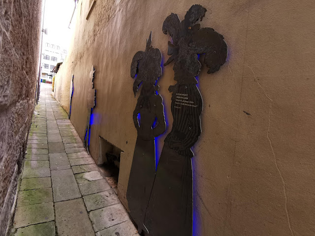 Public art in The Rocks Sydney