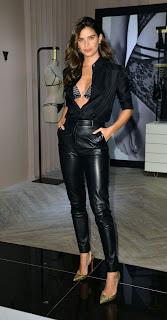 Sara Sampaio at LIVY Lingerie Celebration at Victoria's Secret in New York