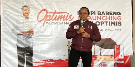 Menangkan Jokowi, Milenial Yogyakarta Launching Kopi Optimis