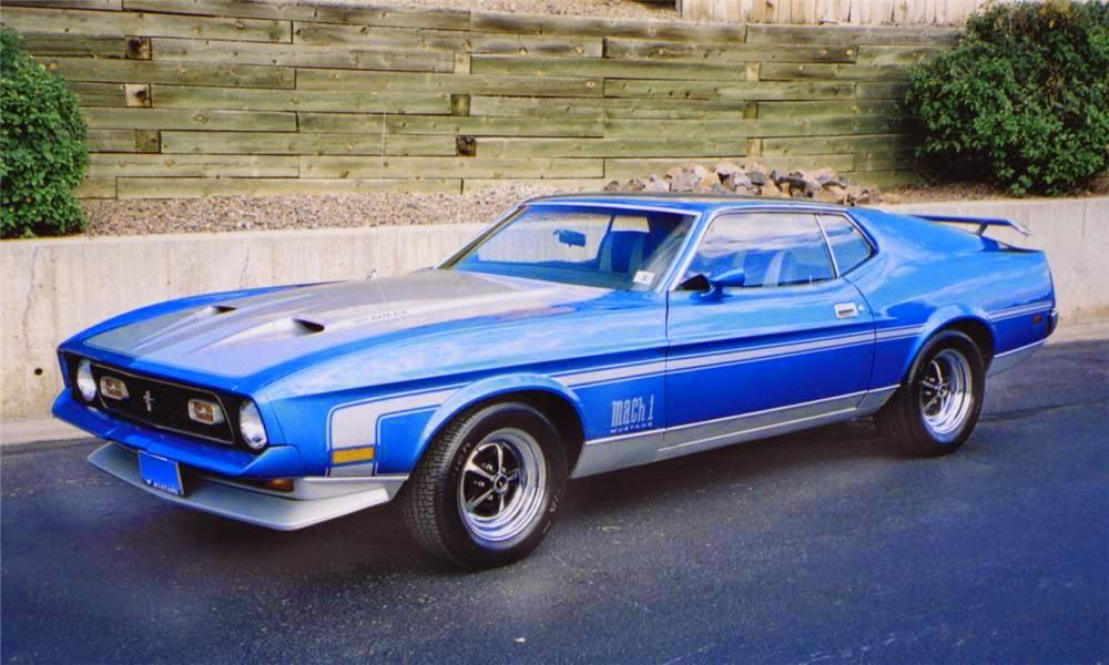 Pontiac Gto 2014 >> Classic American Cars: Ford Mustang Mach I 2nd gen (1971-1973)
