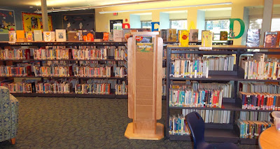 Interior: Bellview Elementary School Library Media Center