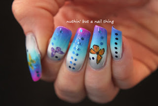 Born Pretty Store - Butterfly Water Decals