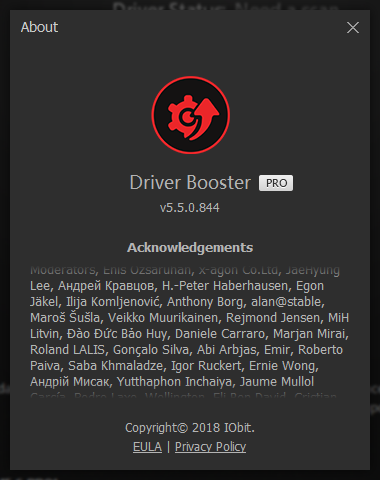 IObit Driver Booster Pro 5.5