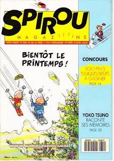 Spirou Magaziiiine, numéro 2812, année 1992