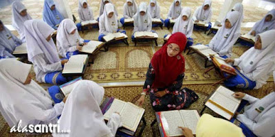 mengajar al qur'an