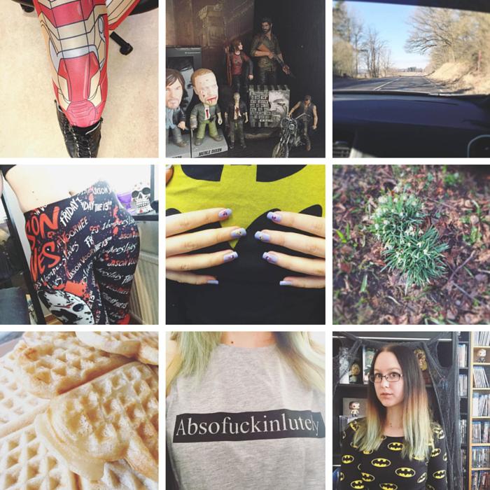 Instagram, Fangirl, Nerd, Batman, Food, Horror, Iron Man, Marvel, DC, Walking Dead