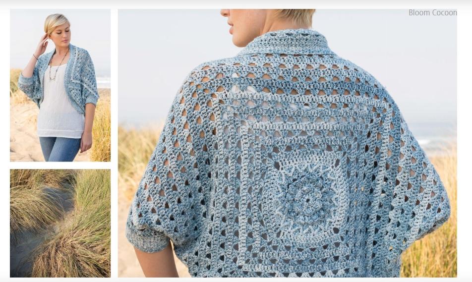 Bloom Cocoon Crochet Pattern