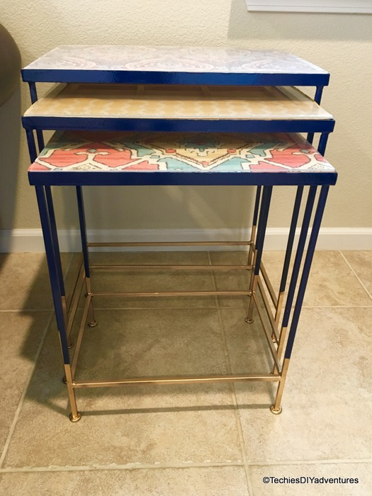 Ethnic Nesting Table