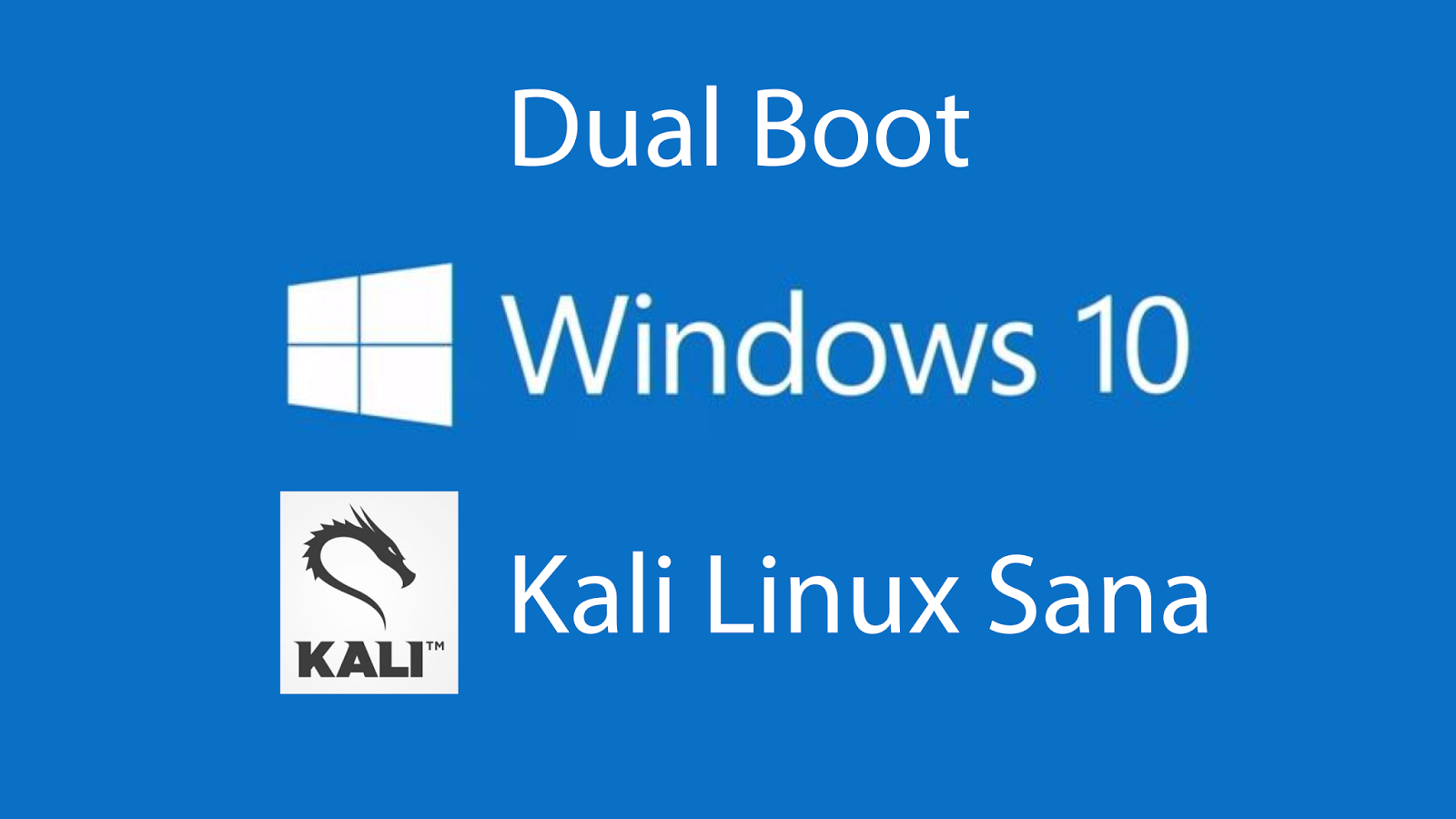 how to dual boot kali linux with windows k4linux